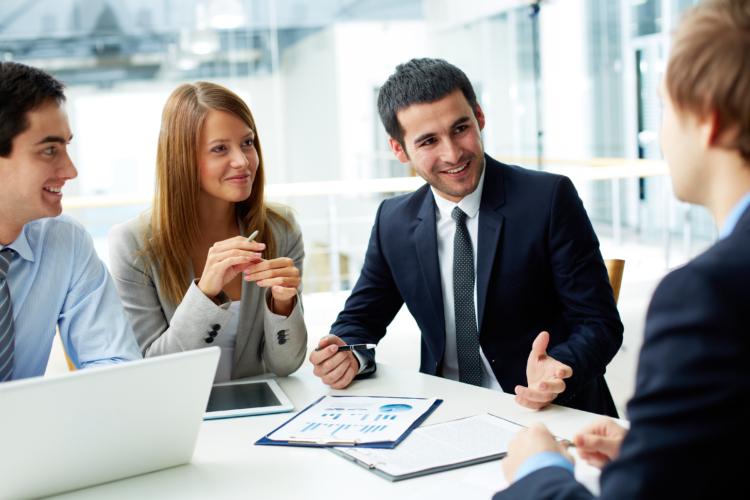 B2B partnership model