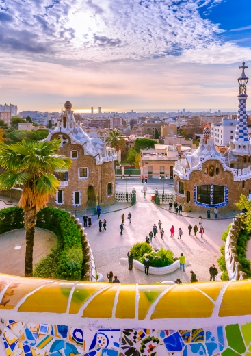 Barcelona top destination for Nomadic multi-city travelers — Shutterstock