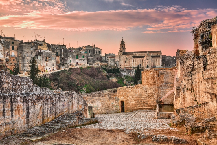 The widget below probably isn't showing you Puglia, because it's searching for the best trip from your airport — Shutterstock