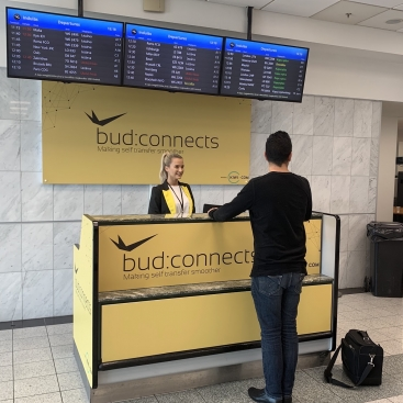 Kiwi.com and Budapest airport improve passenger journey with bud:connects