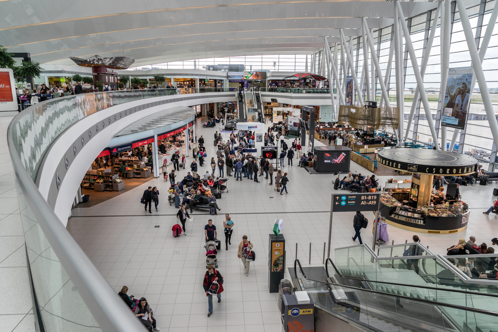 More than 14.9 million passengers traveled through the Budapest airport in 2018 — Gordon Bell / Shutterstock Kiwi.com and Budapest airport improve passenger journey with bud:connects