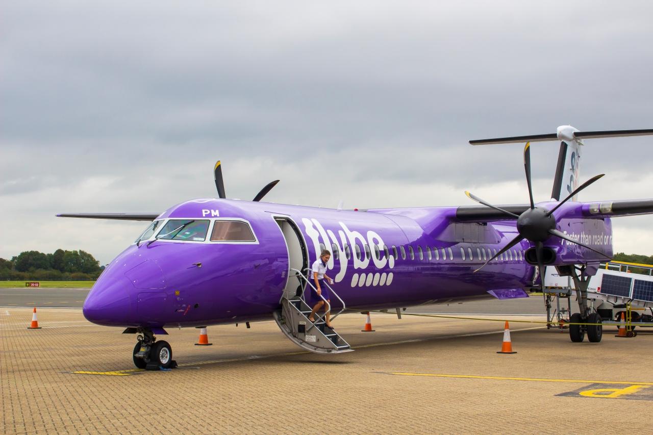 Flybe declares bankruptcy, airline, bankrupt