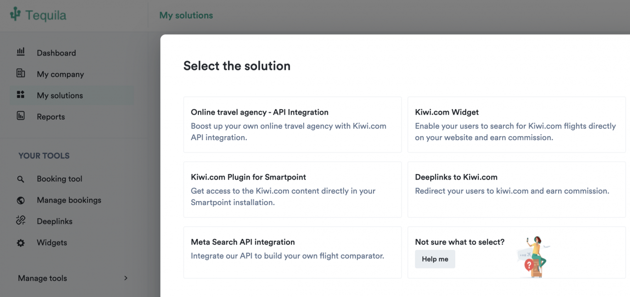 Tequila Solutions feature Kiwi.com