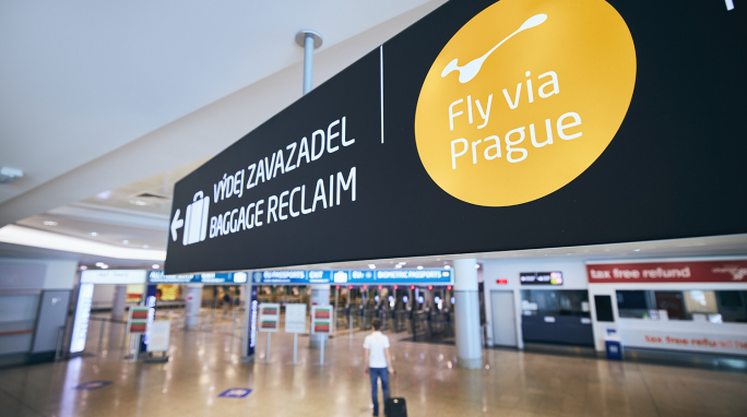 Fly via Prague and Kiwi.com